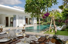 Villa Kyah - Alfresco dining