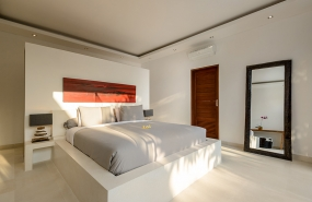 Villa Kyah - Guest bedroom one interiors